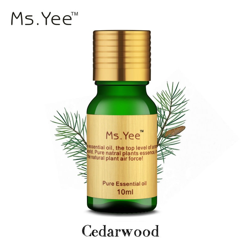 100% pure natural Cedarwood essential oil removed acne, treatment of d