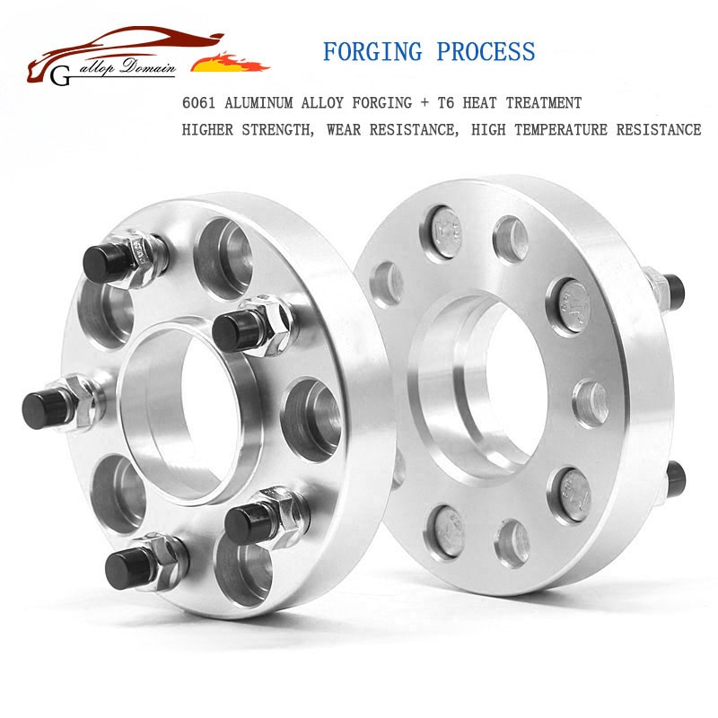 CB:64.1mm Aluminum alloy CNC forge wheel spacers adapters suit for