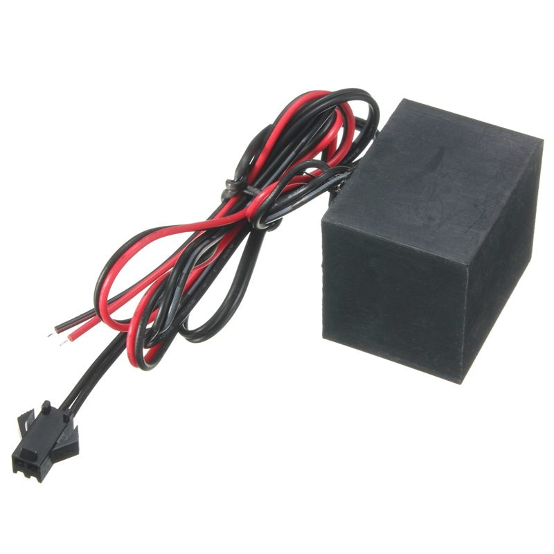 12V EL Wire Drive 1000-2000Hz For Soft Flash Flexible Neon Light Lamp
