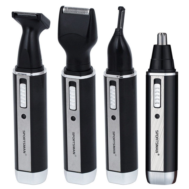 1 Brand Nose Hair Trimmer Eyebrow Beard Shaving Knife Multi-function W