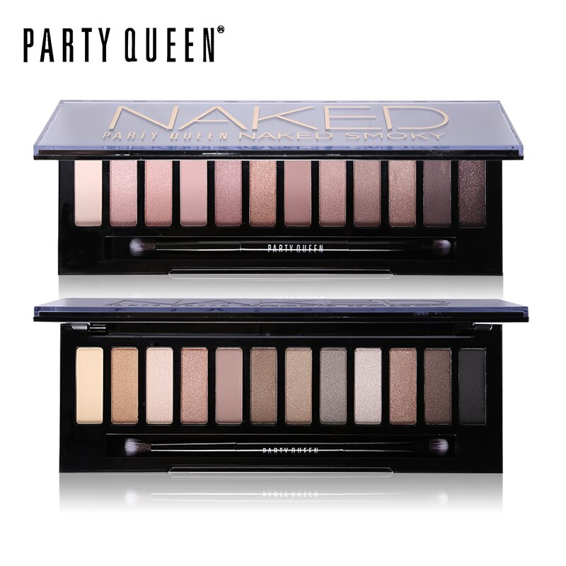 12 Color Naked Eyeshadow Palette Nude Makeup Earth Color High Pigment