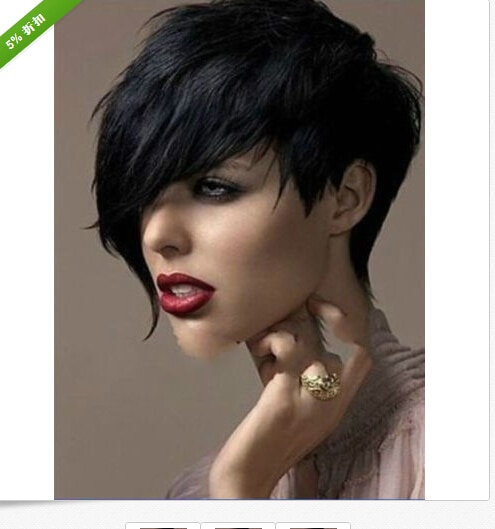 ! Synthetic Full Wig for Women Heat Resistant Short Wigs for Black Wom