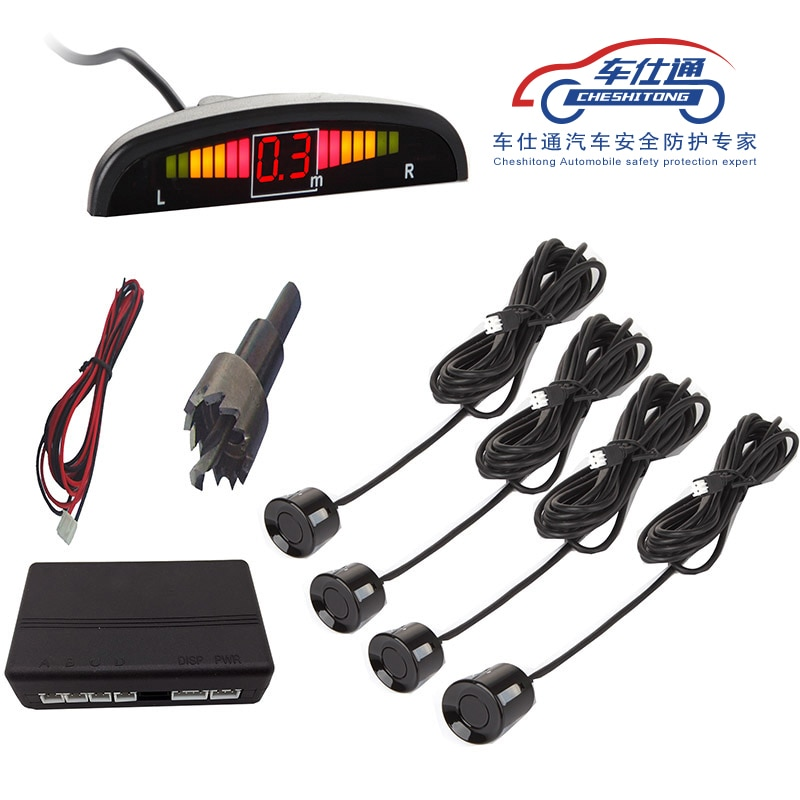 sensor  1Set Car LED Parking Sensor Kit Display 4 Sensors for all car