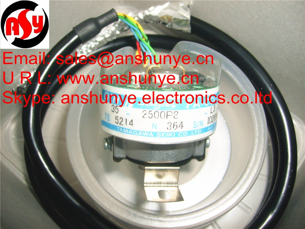 TAMAGAWA  Rotary Encoder  Resolver   OIH 35-2500P8-L3-5V, ( Made in J