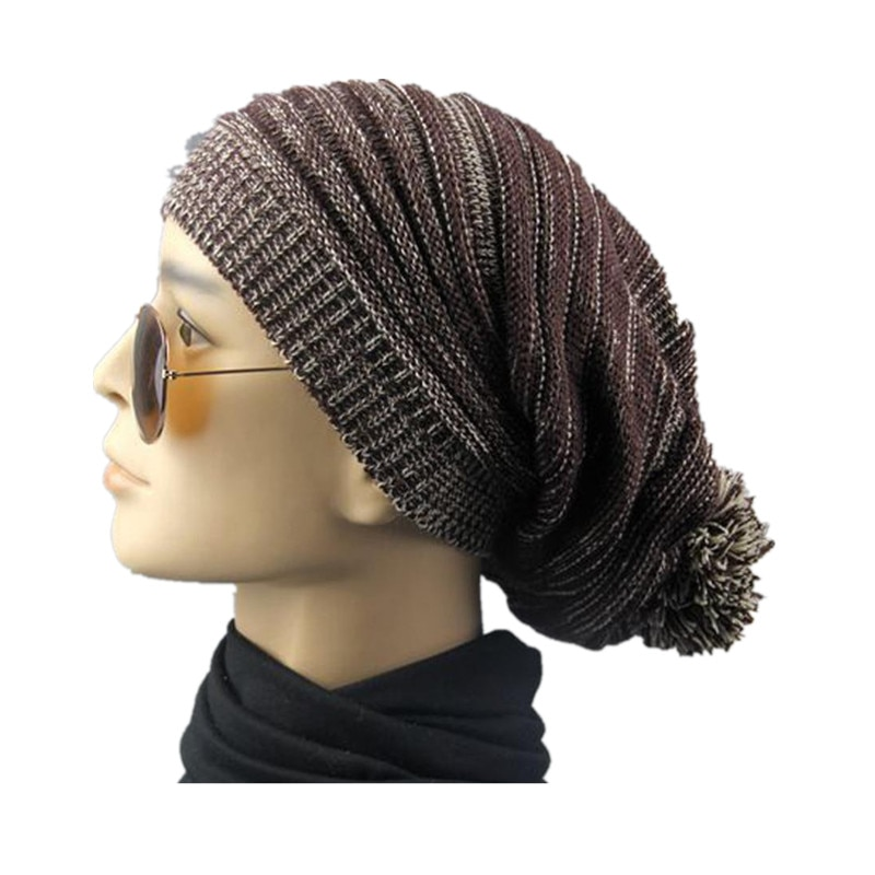 Cotton Warm Winter Hat Men Women Solid Fold Cap With Special Design Po