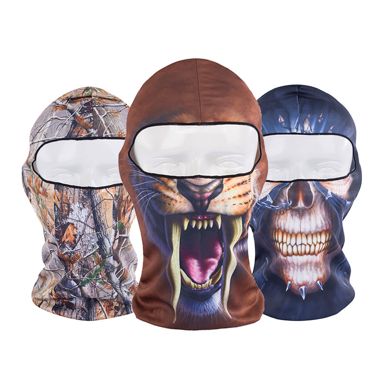 3D Skull Cap Dog Animal Outdoor Sports Bicycle Cycling Motorcycle Mask