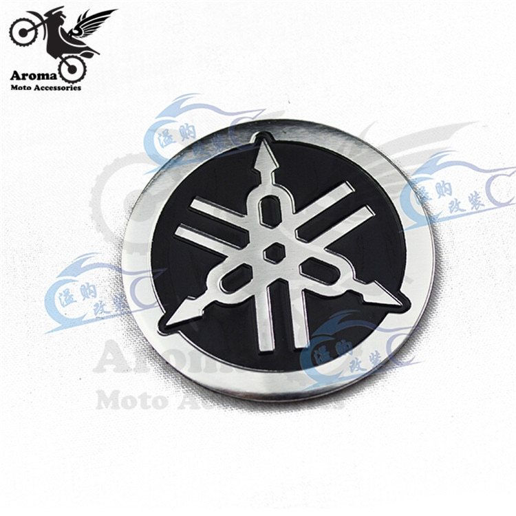 4.5CM*4.5CM 1 PCS motorcycle decal round for yamaha logo motorbike st
