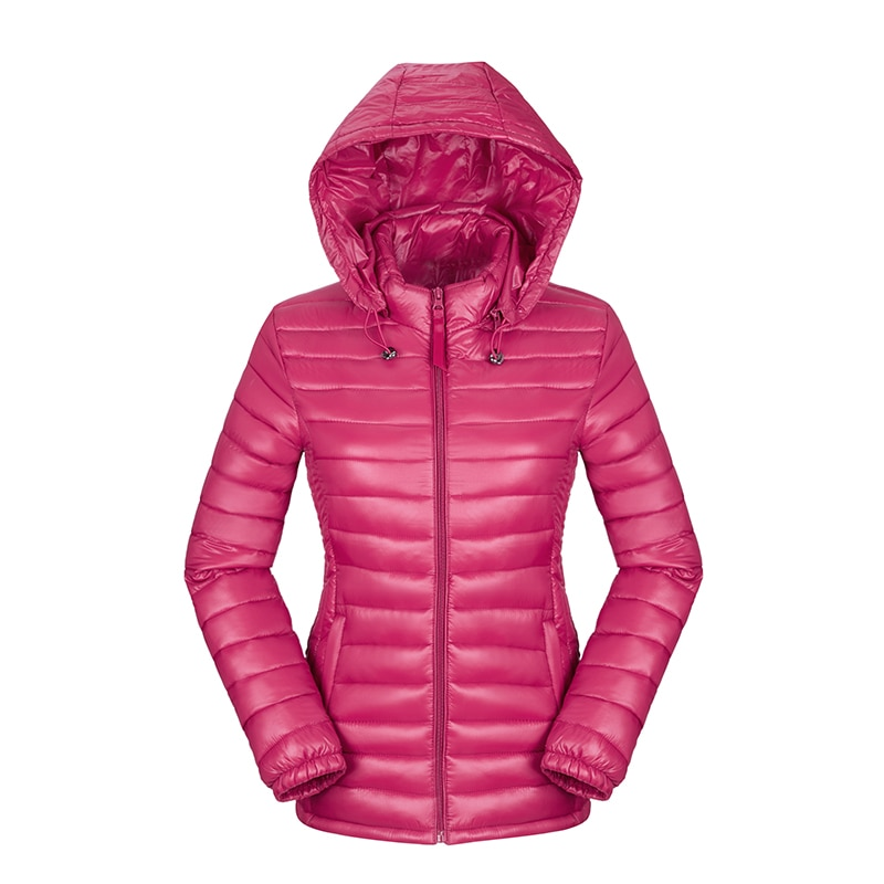 and winter jacket women down cotton-padded jacket parka short slim hoo