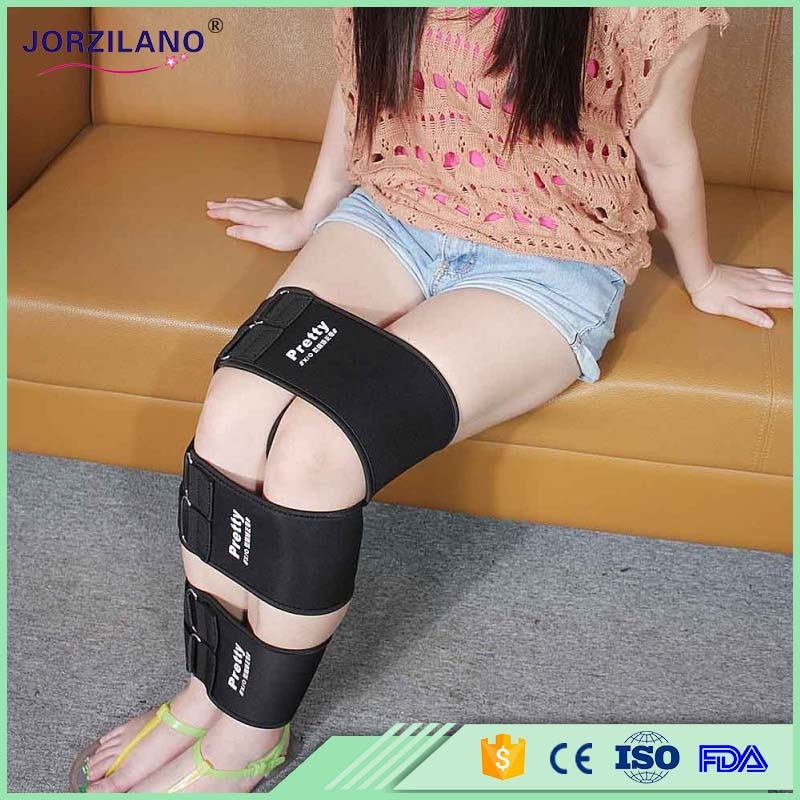 & supports new fashion O form X form Legs correction belt, correction