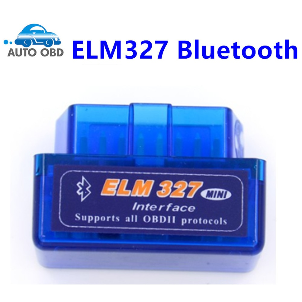ELM327 ELM 327 V2.1 OBD2 Bluetooth Interface Auto Scanner obd ii Diag