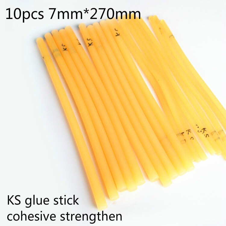 Super Sticky KS Type Hot Melt Glue Stick  High Viscosity Adhesive Rub