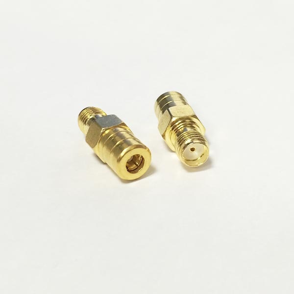 SMA  Female Jack to SMB Female Jack  RF Coax Adapter convertor  Strai