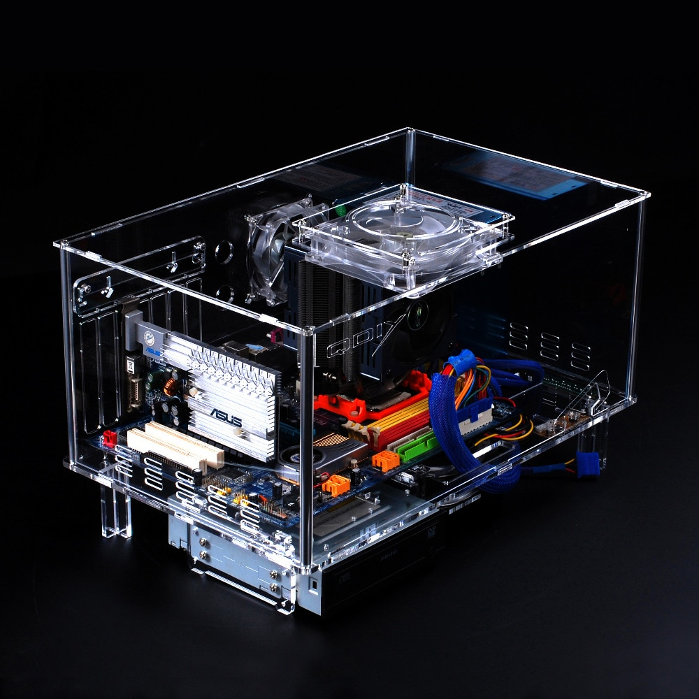E-ATX Personalized Acrylic Transparent Computer Desktop Game Computer