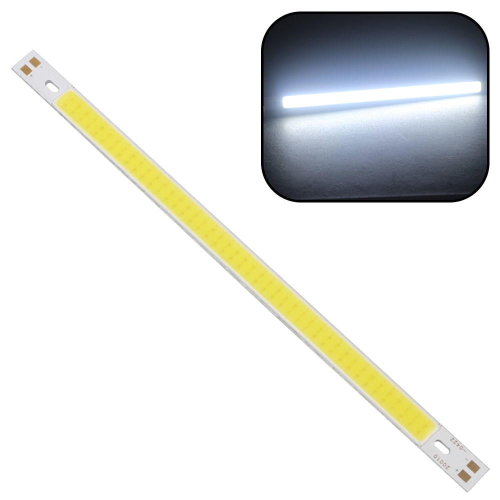 10MM High Quality For DIY 12V - 24V Warm White Pure White LED Strip Li