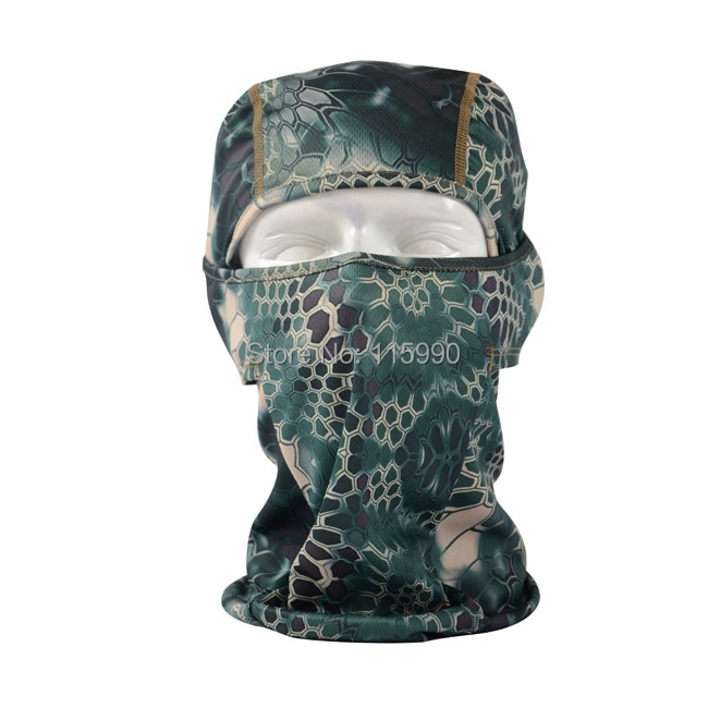 Mesh Digital Print Balaclava/ Mountain Mesh headgear/ Summer Balaclav