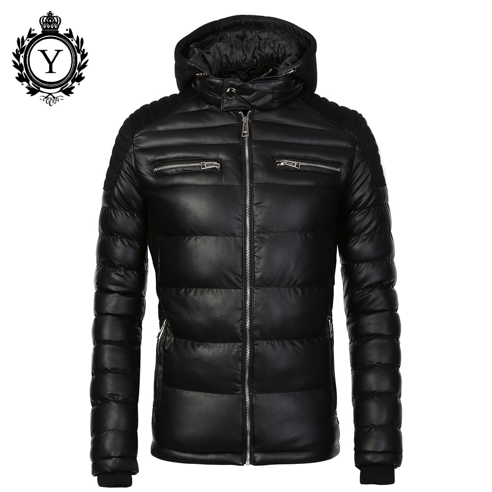 Fashion Men's Winter jacket Warm Hooded Thick Coat Jackets For Men Hig