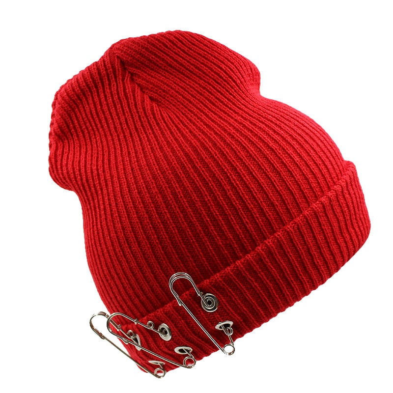 3 Pin New Fashion Women Knit Hat Winter Warm Caps Top Casual Women's B
