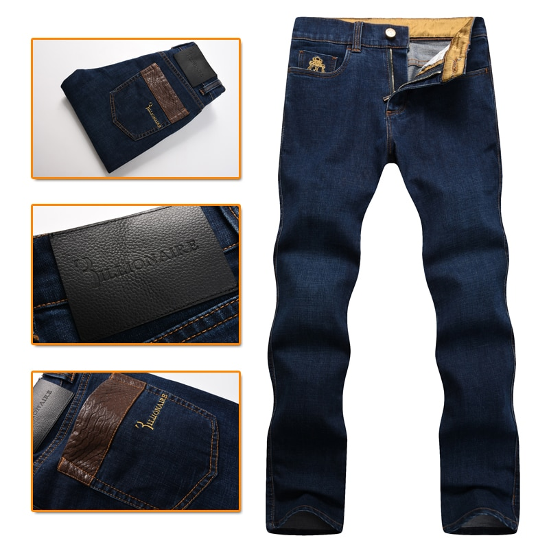 couture men's jeans 2016 New thick commercial Fashion embroidery leisu