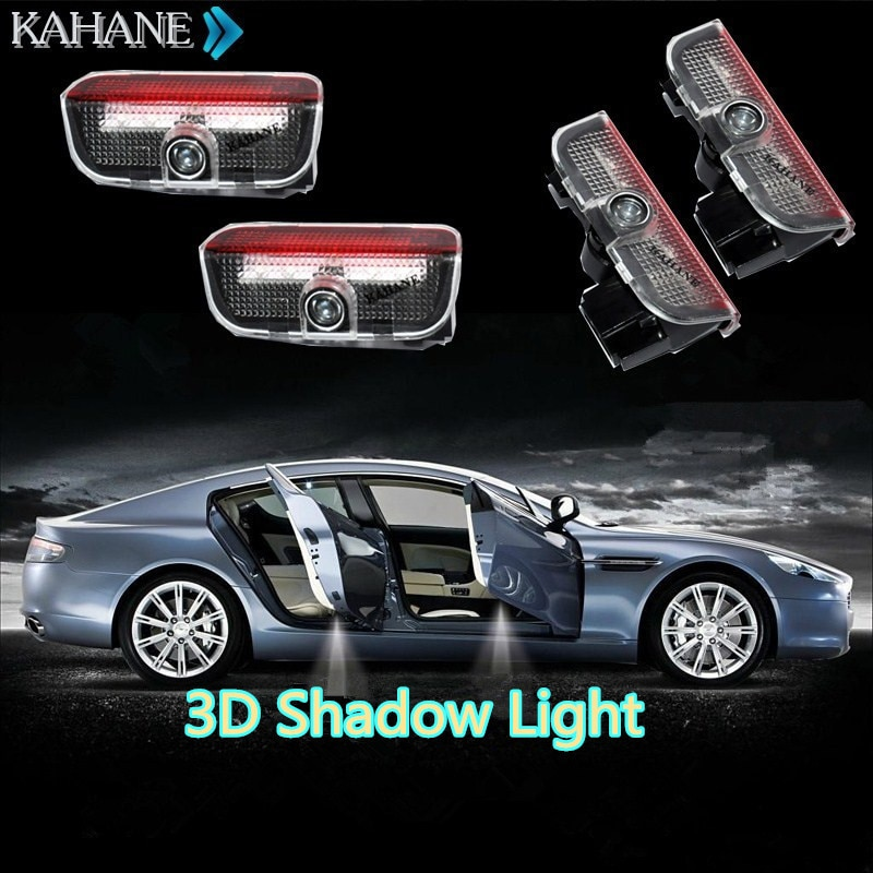 Lamp Welcome Courtesy Logo Projector Shadow  Light  for  VW Passat B6