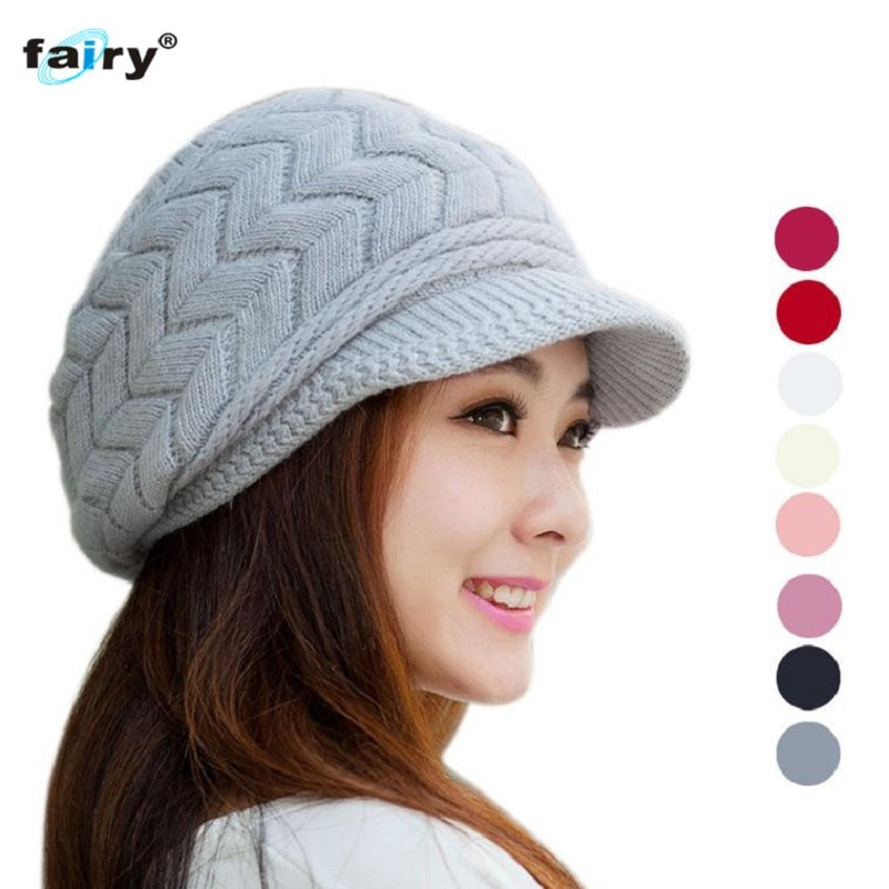 Fairy Store 2016 Hot Selling  Fashion Women Hat Winter Skullies Beanie