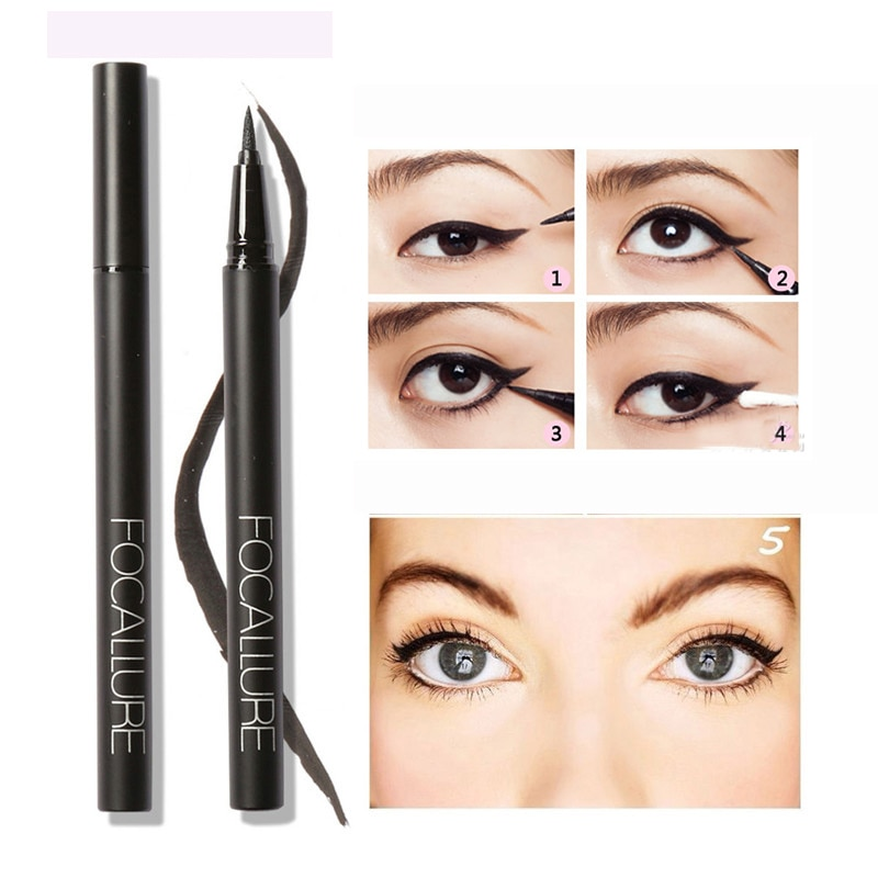 Eye Liner Pencil 24 Hours Long Lasting Water-Proof  Liquid Eyeliner P