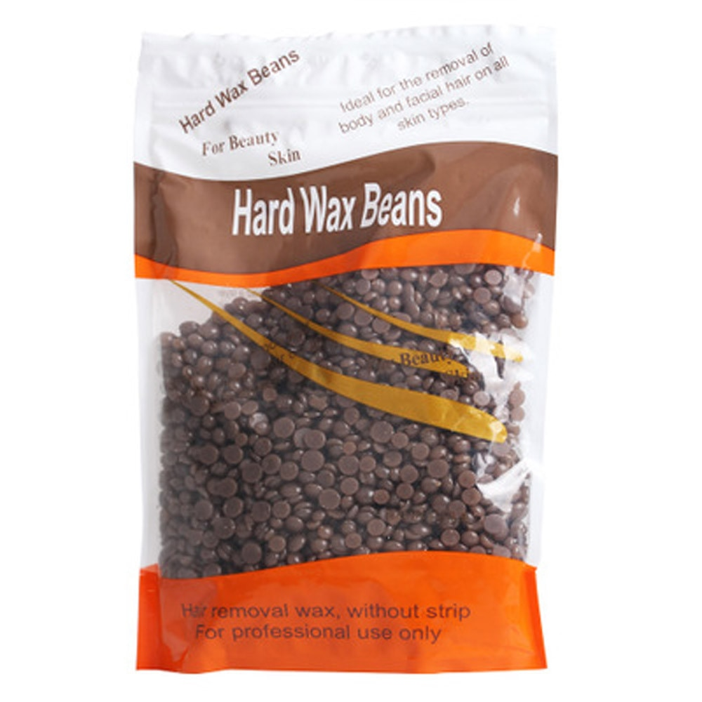1 bag Coffee Flavor No Strip Depilatory Hot Film Hard Wax Pellet Waxin