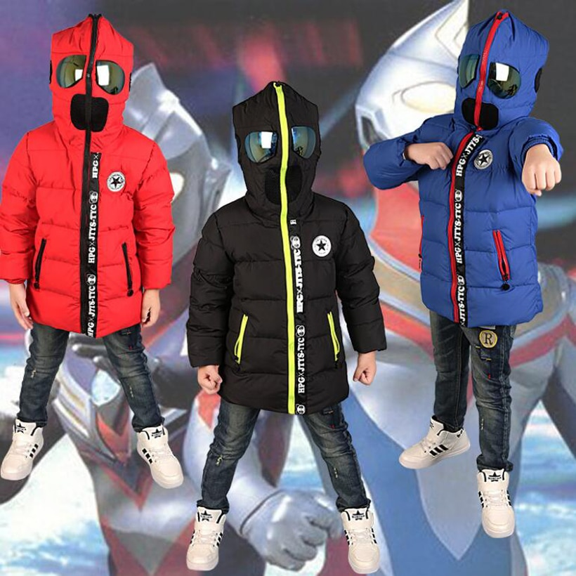 children Down & Parkas 3-10T winter kids outerwear boys casual warm bo