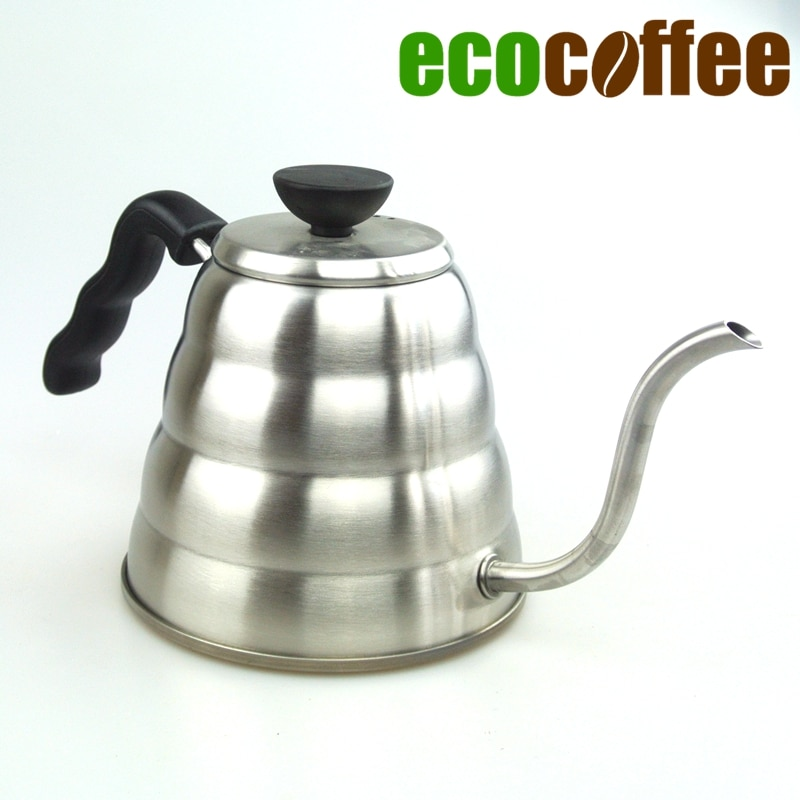1000ML Stainless Steel Coffee Kettle Teapot Coffee Kettle Style V60 Te