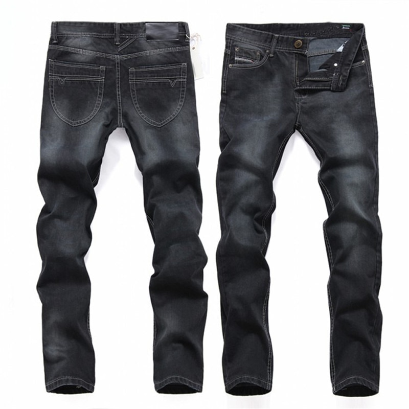 38 40 fashion designer Beckham black cotton jeans pants for men High q