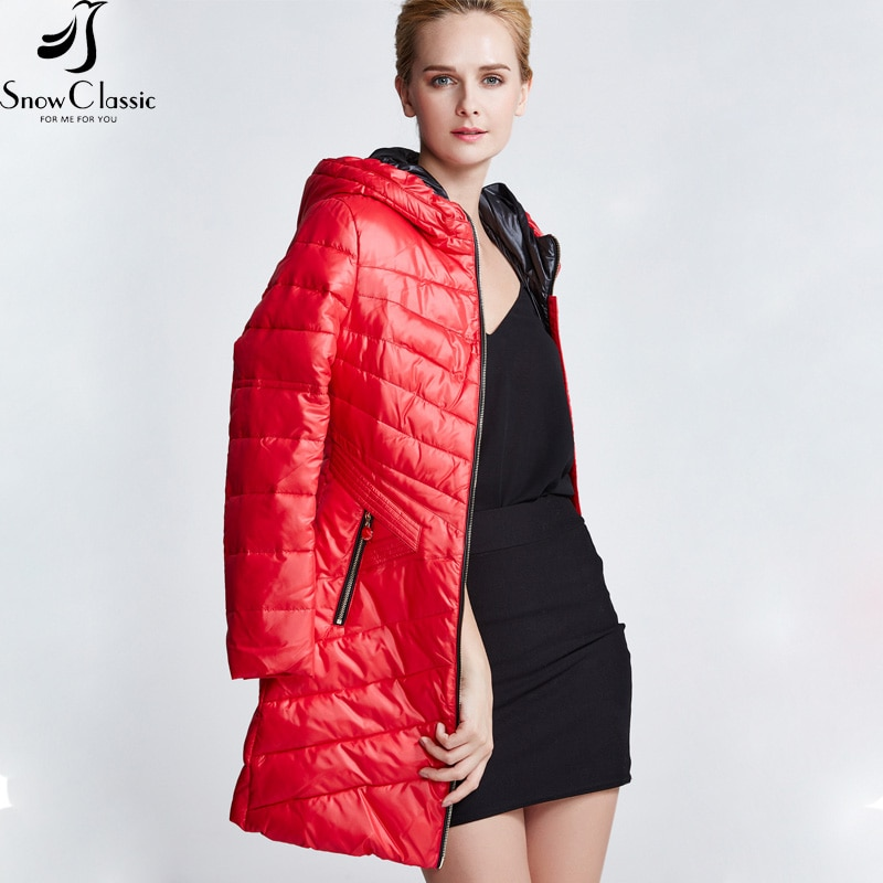 Female Jacket 2016 Fashion Hooded Jacket Thick Long Jacket Parka Wome