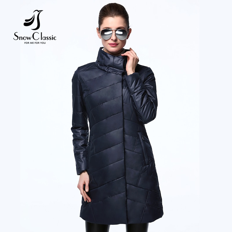 2017 New Spring Autumn Women  Jackets Thin Cotton Padded Jacket Fashio