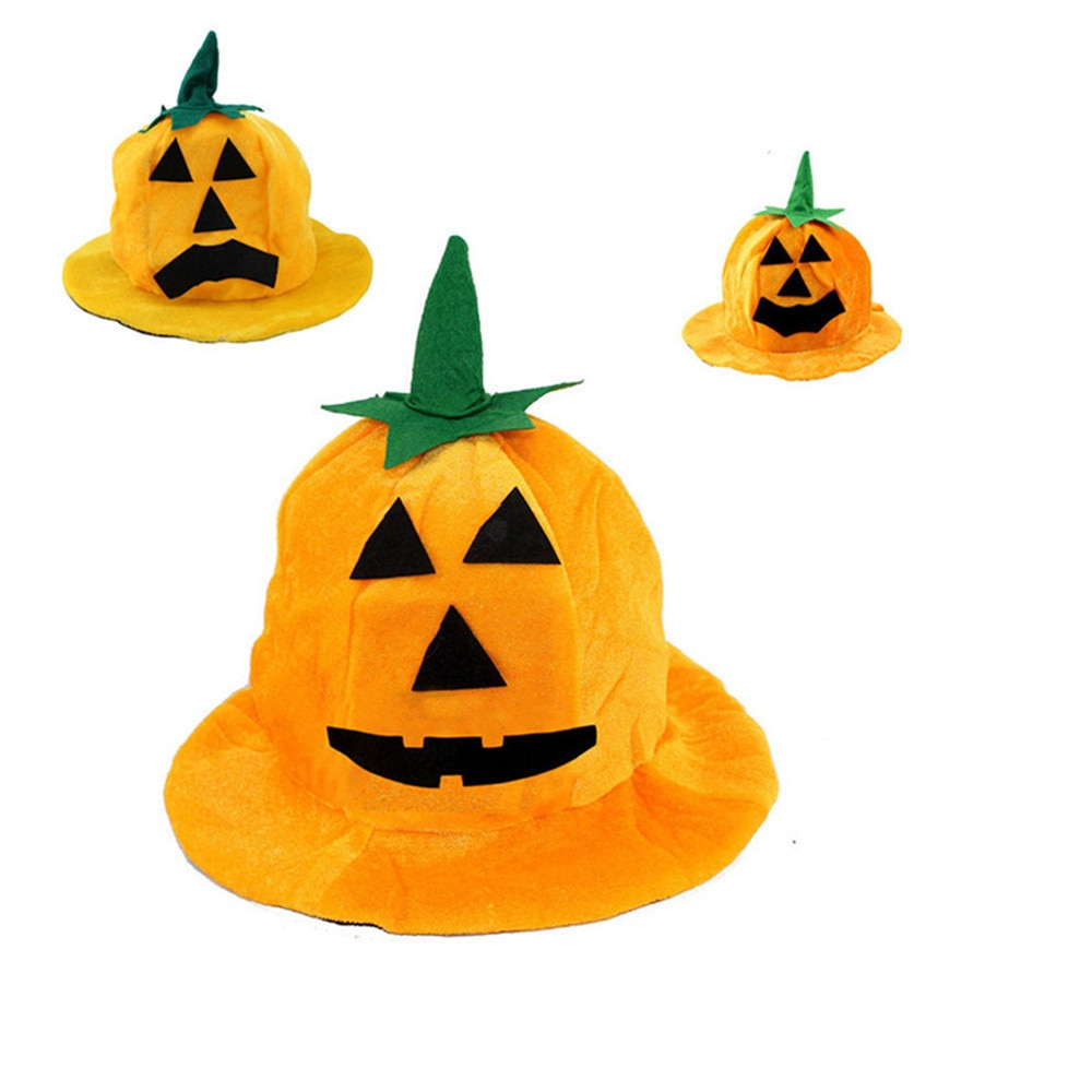 Halloween Holiday Cute And Funny Hat Halloween Party Pumpkin Hat Orang