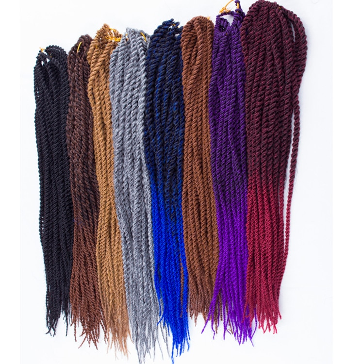 "braid hair havana mambo twist r extension 18-22"" strands two tone cro"