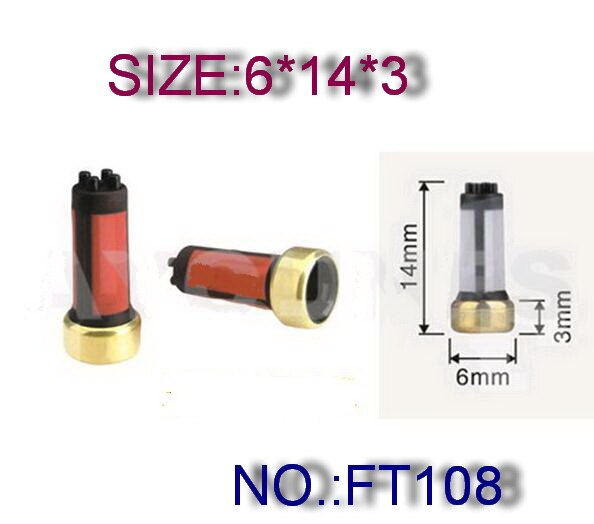 high quality 14*6*3mm fuel injector micro filter for japan cars (HT-F