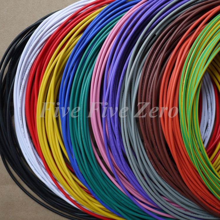 PVC Insulated Tinned Copper Wire Electronic Wires  eco PVC cable UL10