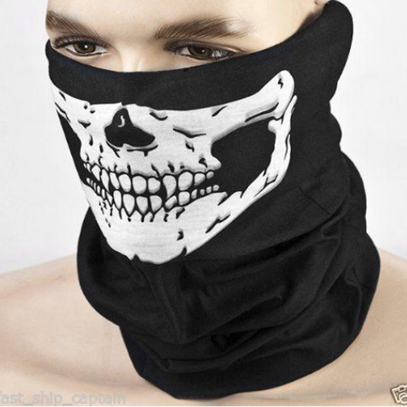 Balaclava Skull Ghost Face Windproof Mask Outdoor Multifunctional Wome