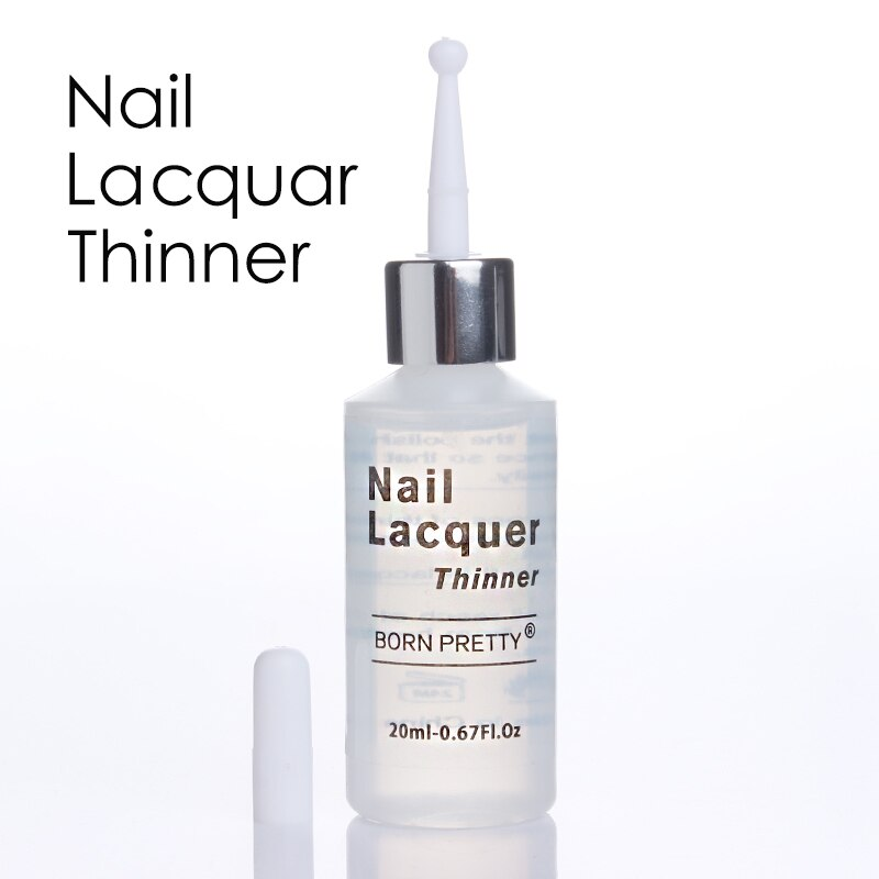 1 Bottle Nail Polish Thinner 20ML Lacquer Varnish Thinner Manicure Nai
