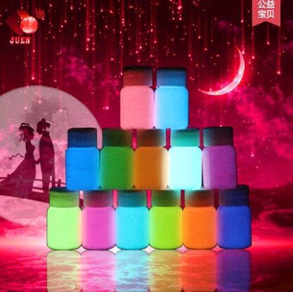 13colors water based liquid luminous coating super bright Fluorescent