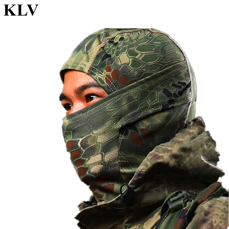 Balaclava Tactical Airsoft Hunting Outdoor Camouflage Army Cycling Mot