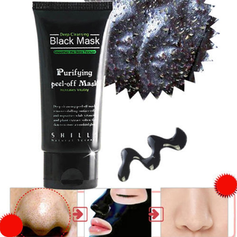 50ML Face Care Suction Black Mask Facial Mask Nose Blackhead Remover P