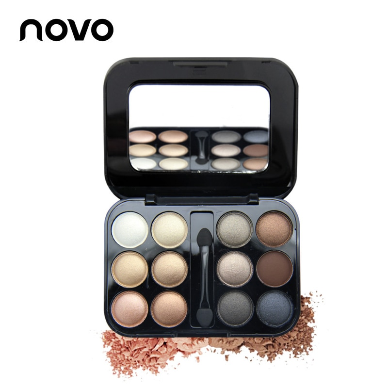 12 Colors Eye shadow Makeup Palette High Quality Powder Smoky eyes Met