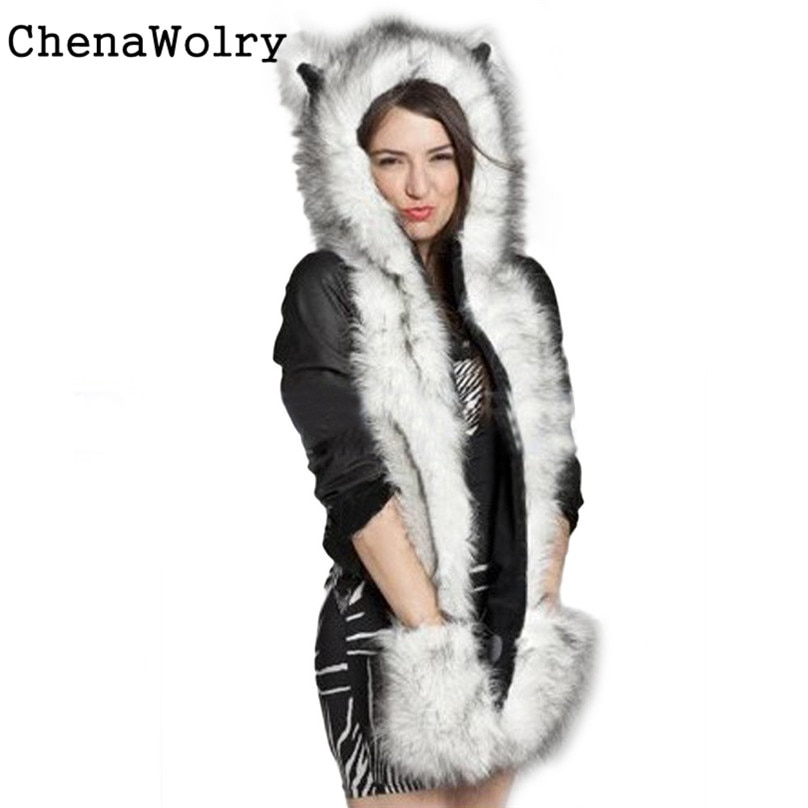 Hot Sales Attractive Luxury Women Faux Fur Beanie Warm Winter Keep War