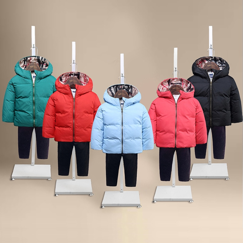 down coat ski suit winter jacket for girls and boys infant overcoat mo