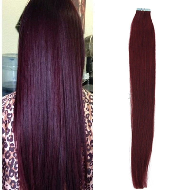 #99J Tape Hair Extensions Tape in Human Hair Extensions Glue in Adhesi