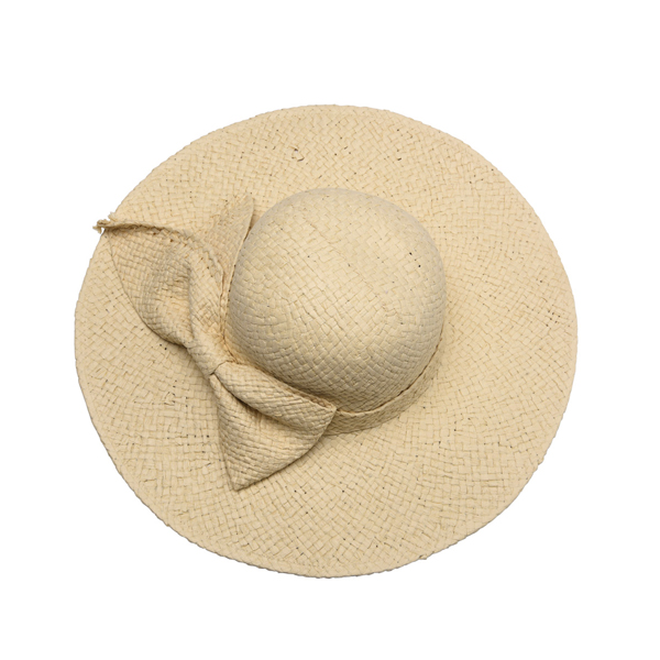 LYZA Women Summer Breathable Straw Sun Hats Foldable Wide Brim Visor Beach Hat