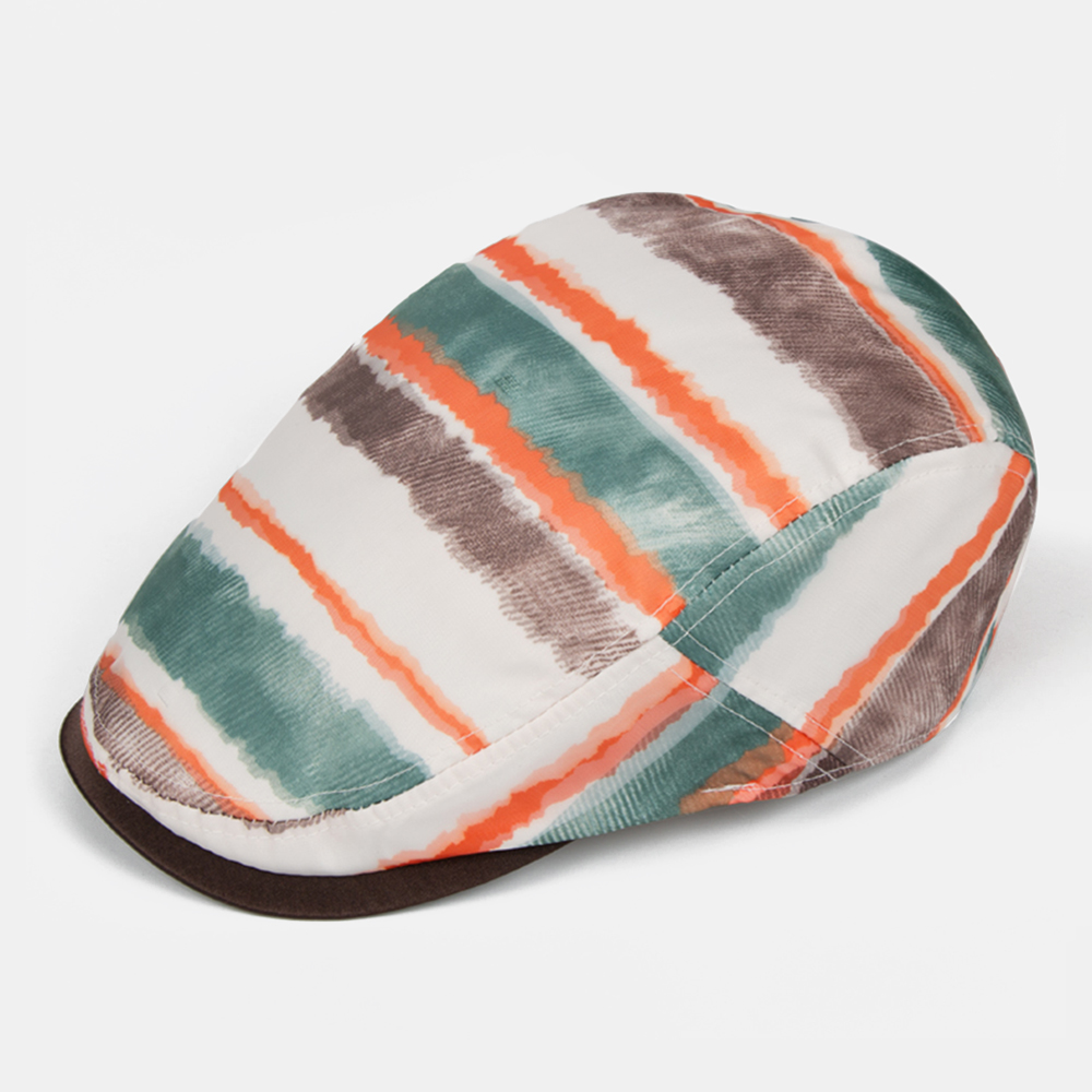 Cool Rainbow Beret Caps Ultra-thin Breathable Sun Visor Hat