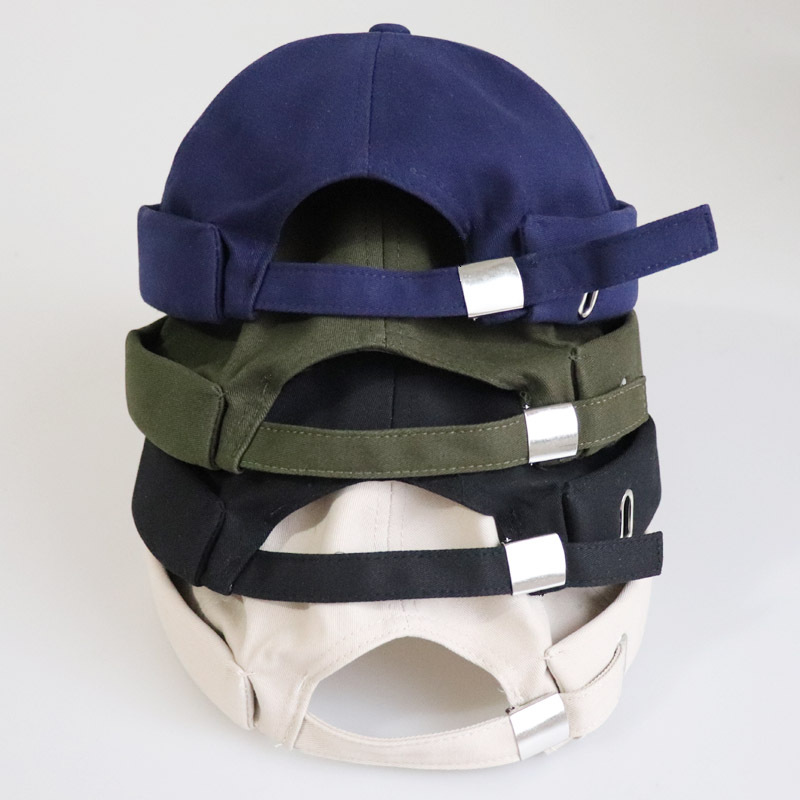 Casual Street Retro Hip Hop Innocent Landlord Hat Sailor Brimless Hats
